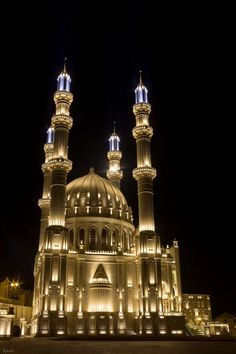 Heydar Mosque, Baku, Azerbaijan ~ by Alexandr Firstov on 500px