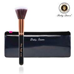 Amazon.com : Party Queen Stippling Brush Makeup Brush 1Pcs Rose Golden Premium Duo Fiber Stipple Brush : Beauty