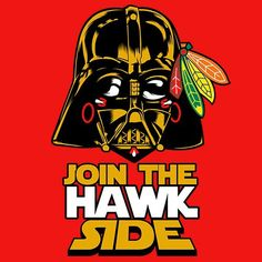 May the 4 be with you Blackhawks fans! Chicago Blackhawks Logo, Nhl Blackhawks, Chicago Bears, Black Hawk, Ice Hockey, Cubs, Goal, Hockey Stuff, Jonathan Toews