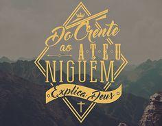 "Check out new work on my @Behance portfolio: ""Estampa - Ninguém explica Deus"" http://be.net/gallery/35223627/Estampa-Ningum-explica-Deus"