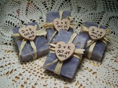 25 bridal shower favors soaps  mini soaps  by CountryChicSoaps, $39.95