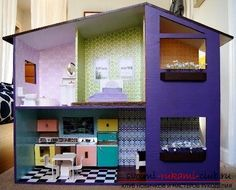 Как должна выглядеть игрушечная мебель для кукол сделанная своими руками? Прекрасные советы