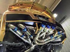 Nissan GTR Exhaust