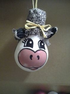 Cow. Made by a friend.