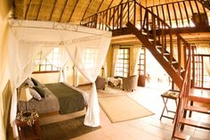 Kafunta River Lodge suite interior