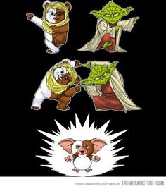 The Lighter Side of the Force: So that's what happens when one fandom uses another's sacred dance...