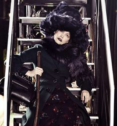 The Vogue Korea 'Witch Hunts' Editorial Displays Occult Fashions #costume #editorial trendhunter.com