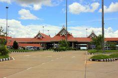 Puente de la amistad Laos y Tailandia en Savannakhet