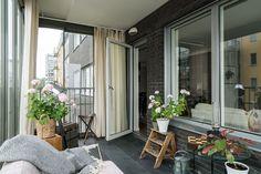 An Elegant Swedish Apartment Surrounded by Sea – The Design Stash Balcony, Windows, Sea, Elegant, Design, Classy, Chic, Balconies, Window