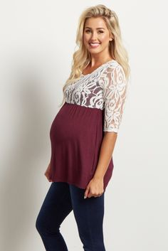 dcfc45914177b Sparkle and shine in this season s favorite knit maternity sweater ...