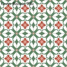 Original Mission Tile - Field Tile - Alamo : Original Mission Tile | Great Britain Tile - America's Floor Specialists - (877) 895-9775