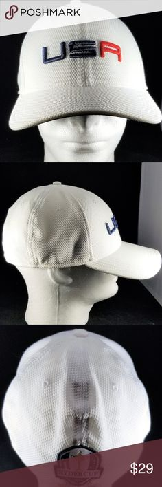 adcb91df711 USA Ryder Cup 2014 New Era 3930 Fitted Cap