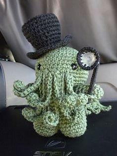 Cthulhu Amigurumi Crochet Pattern - FREE