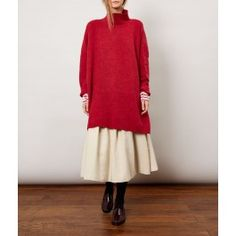 Cherry Victoria Sweater Dress