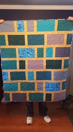 Teal blocks.