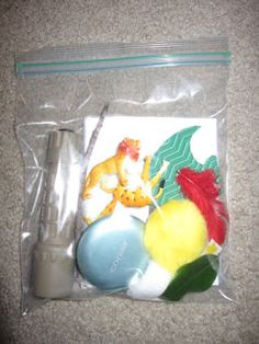 Tell and review the story of creation using an object bag.  This is particularly useful for tactile learners or students with visual impairments!