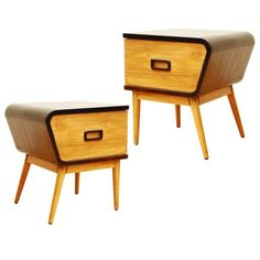 Retro collection mid-century furniture at Dunelm Mill - twin side tables