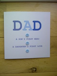 Handmade Father's Day Cards and Gifts on Pinterest ...