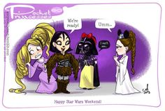 Pocket Princess No: 60 Happy Star Wars Weekend