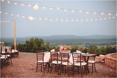 You couldn't ask for a better view from your dinner seat!      Photo:  nbarrett and Kelly Christine  Venue:  Wildcatter Ranch (Graham, TX)