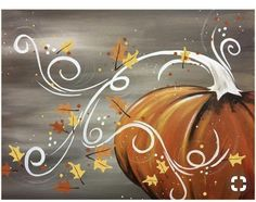 Check out our favorite painted pumpkins featuring the cute and the creepy. Plus, get our best tips for creating Halloween pumpkin decorations and displays. Fall Canvas Painting, Autumn Painting, Autumn Art, Tole Painting, Canvas Art, Pumpkin Canvas Painting, Canvas Ideas, Painted Canvas, Halloween Painting