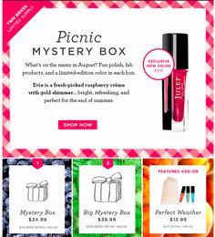 Julep Mystery Box for August is out!