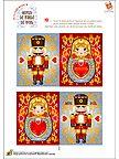 Free Printable Christmas Menus with Matryoshka and Tin Soldier