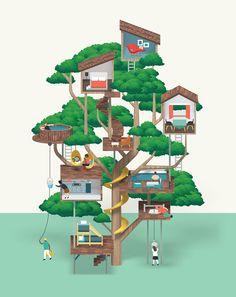 Utopian Dwelling on Behance