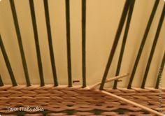 Мастер-класс Поделка изделие Декупаж Плетение Одежка для швейки небольшой МК Бумага газетная Салфетки Трубочки бумажные фото 5