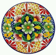 Recommened by Edali: talavera pottery imported from mexico, fine mexican pottery. Pottery Painting, Ceramic Painting, Ceramic Art, Talavera Pottery, Ceramic Pottery, Tuile, Mexican Designs, China Painting, Mexican Folk Art