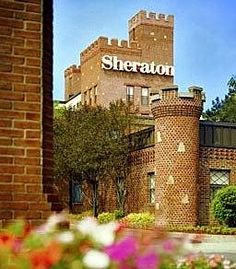 Sheraton Braintree, MA stayed here before he big move to MD