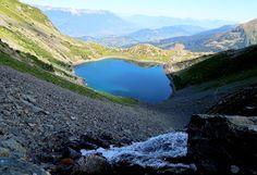 trekking de bernard: Lac de Crop et lac Bleu, un tichodrome  et des orp...