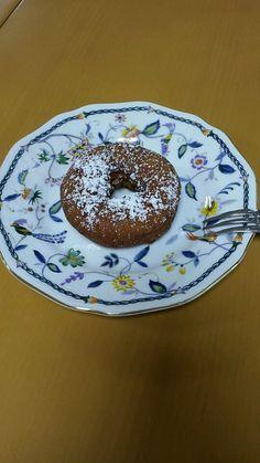 10月4日。おやつは、ドーナツでした!140カロリーです