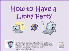 Linky Party How To InformationAre you wondering how to have a linky party by Wise Owl Factory