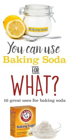 10 Great Uses for Baking Soda | You'll love all the ways you can use baking soda…