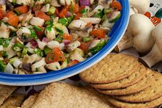 Know the secret ingredient that is used to substitute the fish. An ingredient that is so good that you won't even notice that the ceviche has become vegetarian. Clean Recipes, Raw Food Recipes, Veggie Recipes, Vegetarian Recipes, Cooking Recipes, Healthy Recipes, Freezer Recipes, Drink Recipes, Cooking Tips