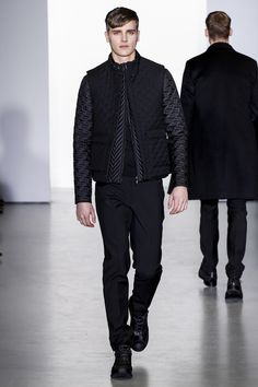Calvin Klein Collection Fall 2013 Menswear Collection Slideshow on Style.com