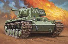 Las Cosicas del Panzer — Kv-1