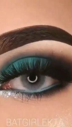 Smoke Eye Makeup, Eye Makeup Steps, Makeup Eye Looks, Beautiful Eye Makeup, Eye Makeup Art, Eyebrow Makeup, Eyeshadow Makeup, Eyeliner, Smokey Eye Makeup Tutorial