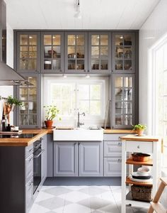 creative kitchen window ideas