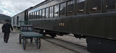 Campo CA 91906 | The restored railway post office car in the display barn was full of ...