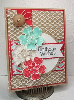 It's a Stamp Thing: Sweet Sunday.....Birthday Wishes
