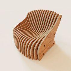 Parametric armchair
