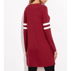 T-shirt mastour rouge pour femme musulmane, long et confortable #jogging #femmevoilée #sport #tenuesport #sweatshirt #boutiquemusulmane #femmemusulmane