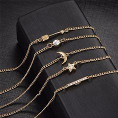 Moon Bracelet Set