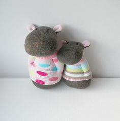 sock hippos | Flickr - Photo Sharing!