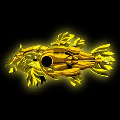 armadura de oro de piscis