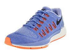 Nike Womens Air Zoom Odyssey Chalk BlueBlackSlHypr Orng Running Shoe 95 Women US *** Check out the image by visiting the link. Note:It is Affiliate Link to Amazon.