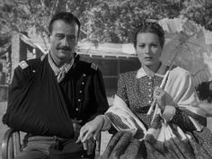 "John Wayne and Maureen O'Hara in ""Rio Grande"", the third in Ford's cavalry trilogy. John Wayne, Rio Grande, Vintage Hollywood, Classic Hollywood, Iowa, Westerns, Francois Truffaut, Maureen O'hara, John Ford"