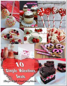 10 Simple Valentines Treat ideas #Recipe